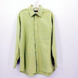 Ted Baker Textured Light Green Dress Shirt
